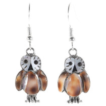 Zuni Owl Earrings 39499