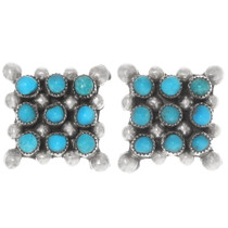 Sleeping Beauty Turquoise Earrings 39500