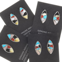 Zuni Mosaic Inlay Earrings 39504