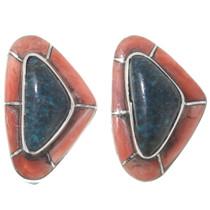 Matching Inlay Earrings Bracelet Set 39511