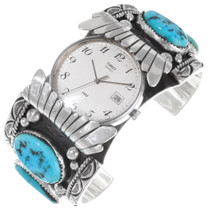 Vintage Sleeping Beauty Turquoise Mens Watch 39513
