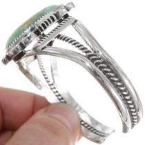 Number 8 Turquoise Sterling Silver Bracelet 39519