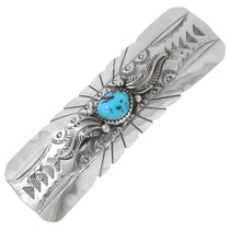 Native American Turquoise Hair Barrette 39527