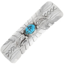 Native American Turquoise Hair Barrette 39528