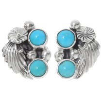 Sterling Silver Turquoise Earrings 39533