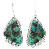 Green Turquoise Earrings 39540