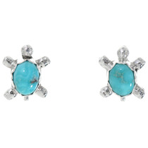 Natural Turquoise Turtle Earrings 39541