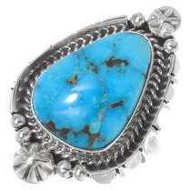 Navajo Arizona Turquoise Ring 39543