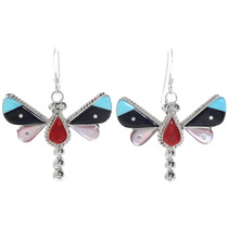 Zuni Dragonfly Earrings 39559