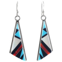 Zuni Inlay Earrings 39561