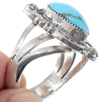Navajo Made Turquoise Ring 39564