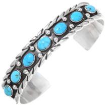 Turquoise Sterling Southwest Bracelet 23238