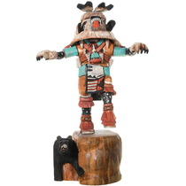 White Bear Kachina Doll 33226