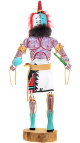 Large Vintage Rattle Runner Kachina Doll 39599
