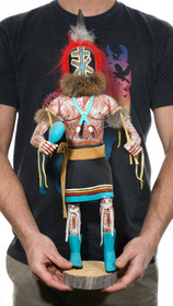 Large Hopi Aya Runner Kachina Doll