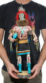 Large Hopi Aya Runner Kachina Doll