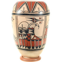 Hand Coiled Native American Hopi Pottery 39609
