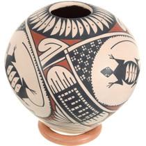 Mata Ortiz Lizards Pottery 39613