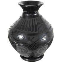 Black Mata Ortiz Pottery 39614