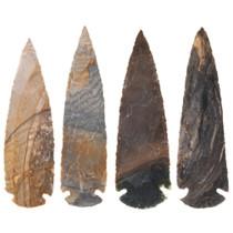 Hand Knapped Stone Indian Arrowhead 39624