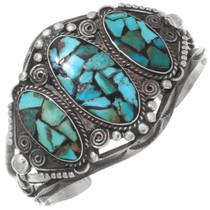 Old Pawn Turquoise Chip Bracelet 39639