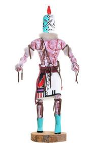 Tall Vintage Rattle Runner Kachina Doll 39646