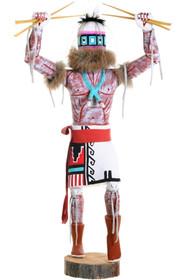 Crazy Rattle Runner Kachina Doll 39647