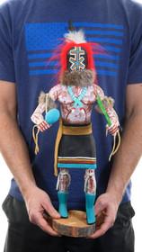 Vintage Rattle Runner Hopi Kachina Figure 39650
