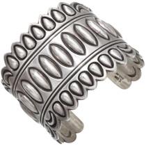Vintage Handmade Sterling Silver Cuff Bracelet 39651