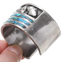 Ithaca Peak Turquoise Inlay Bracelet 39653