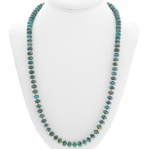 Native American Turquoise Gold Necklace 32996
