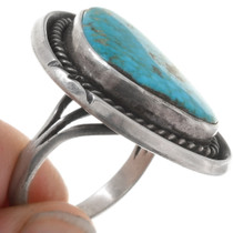 Navajo Arizona Turquoise Ring 39658