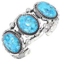 Navajo Indian Turquoise Cuff Bracelet 39661