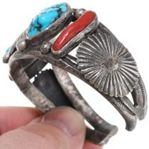 Vintage 1960s Sleeping Beauty Turquoise Bracelet 39667