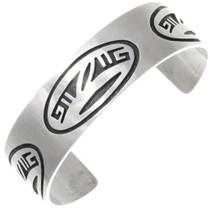 Vintage Sterling Silver Hopi Bracelet 39692