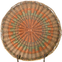 Old Hopi Third Mesa Wicker Tray Basket 39721