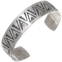 Vintage Native American Hopi Sterling Silver Bracelet 39729