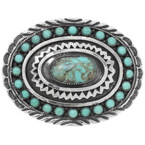 Nevada No. Eight Turquoise Belt Buckle 28231