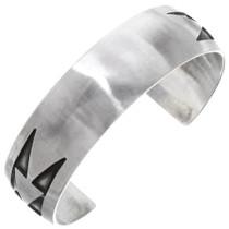 Vintage Sterling Silver Navajo Cuff Bracelet 39735