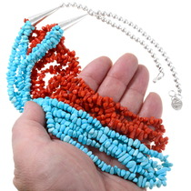 Sleeping Beauty Turquoise Necklace 39754