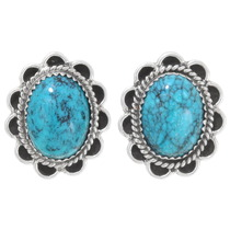Navajo Turquoise Post Earrings 39793