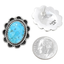 Native American Turquoise Post Earrings 39794