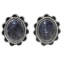 Navajo Blue Sapphire Earrings 39795