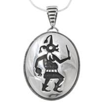Vintage Hopi Silver Kachina Pendant 39798