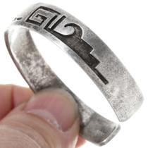 Old Pawn Hopi Sterling Silver Bracelet 39806