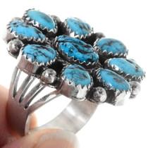 Arizona Turquoise Native American Ring 39810