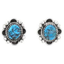 Arizona Turquoise Navajo Earrings 39818
