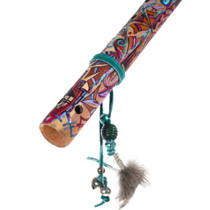 Colorful Native American Flute for Display 39828