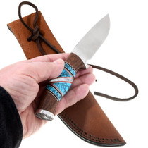 Native American Made Turquoise Knife 39833