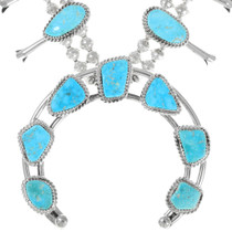 Sonoran Gold Turquoise Native American Necklace 39255